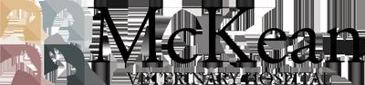 McKean Veterinary Hospital, logo